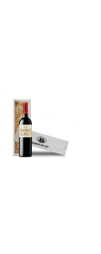 1-Vakskist Schuifdeksel met 1 fles Barón de Ley Club Privado