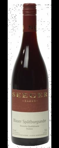 Weingut Seeger Blauer Spätburgunder