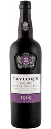 Taylor's Single Harvest Tawny Port 1969 in OWC