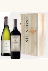 Salentein Numina in houten kist Chardonnay en Malbec