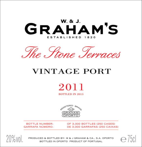 Graham's Stone Terraces Vintage 2011