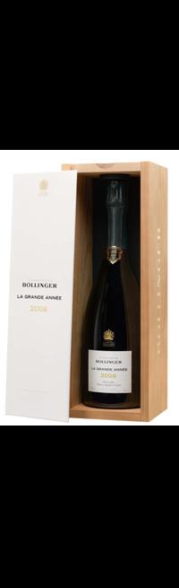 Champagne Bollinger La Grande Année 2008