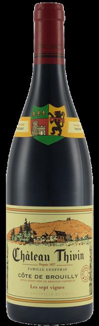 Chateau Thivin Côtes de Brouilly Les 7 Vignes