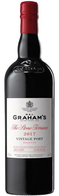 Graham's Stone Terraces Vintage Port 2017 Case of 3 btls 75cl