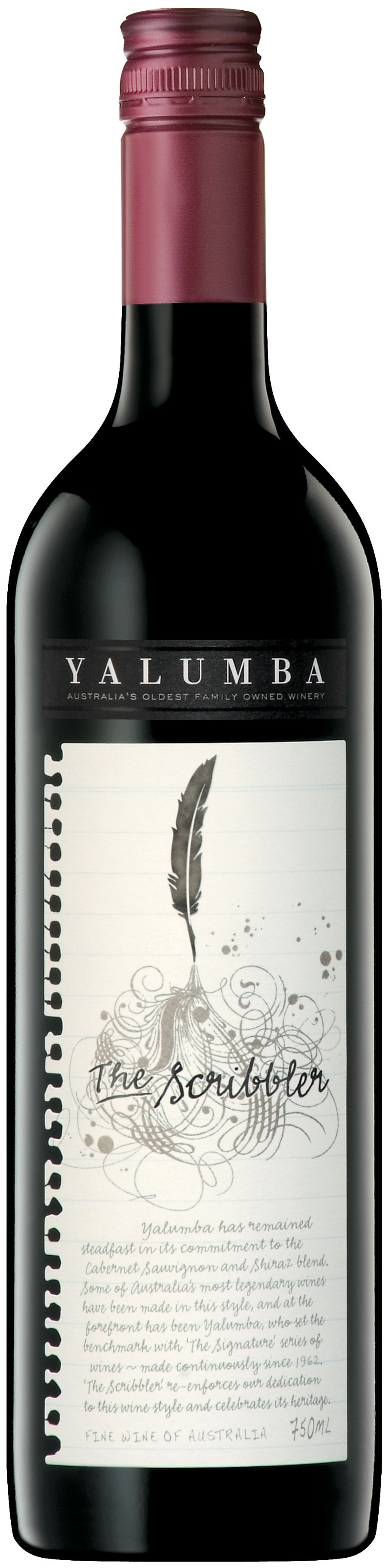 Yalumba The Scribbler Cabernet Sauvignon & Shiraz