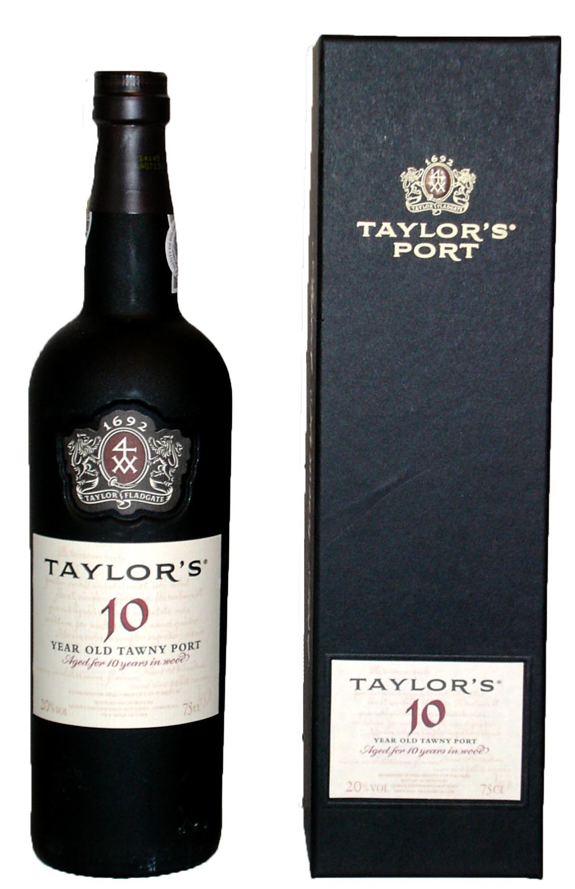 Taylor's 10-years old Tawny Port in kadodoos